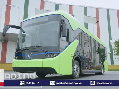 Tuyến buýt điện thông minh đầu tiên của Việt Nam