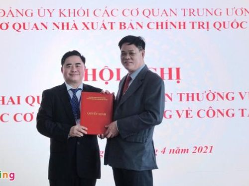 Đồng chí Phạm Minh Tuấn làm Bí thư Đảng ủy Nhà xuất bản Chính trị quốc gia Sự Thật
