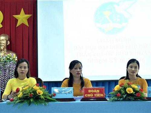 Hội LHPN TT. Phước Bửu tổ chức Đại hội nhiệm kỳ 2021-2026