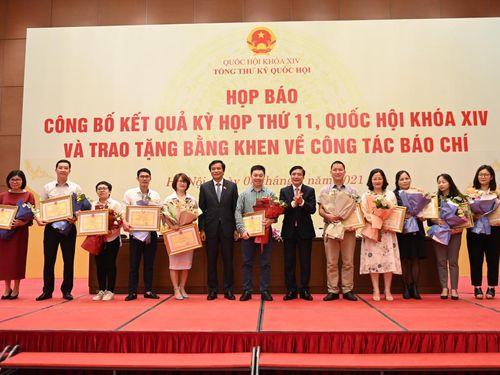 Ông Nguyễn Hạnh Phúc: 'Đồng hành cùng báo chí là kỷ niệm đẹp không bao giờ quên'