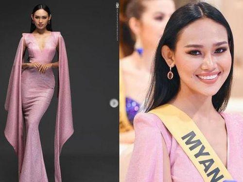 Hoa hậu Hòa bình Myanmar vừa bị truy nã có gu thời trang cực gợi cảm