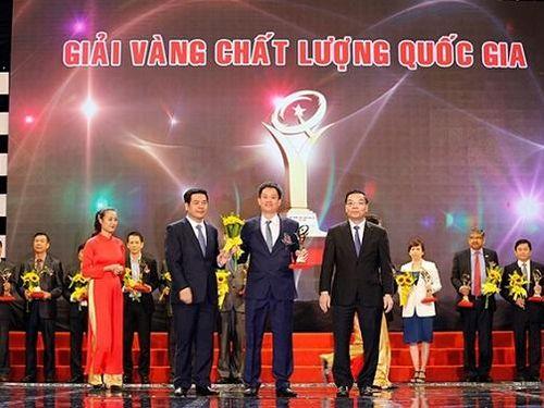 19 doanh nghiệp được tặng Giải Vàng Chất lượng Quốc gia năm 2020