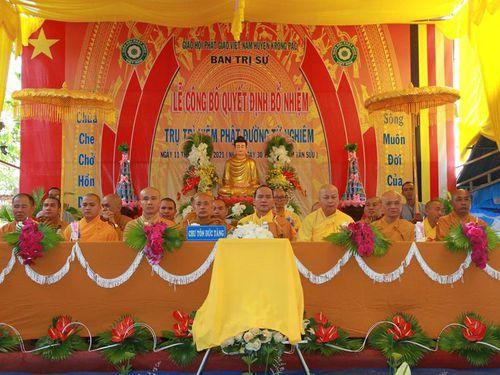 Đắk Lắk: Bổ nhiệm trụ trì niệm Phật đường Từ Nghiêm