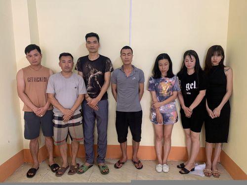 Bắc Giang: Kiểm tra nhà nghỉ, phát hiện 6 'nam thanh nữ tú' dương tính ma túy