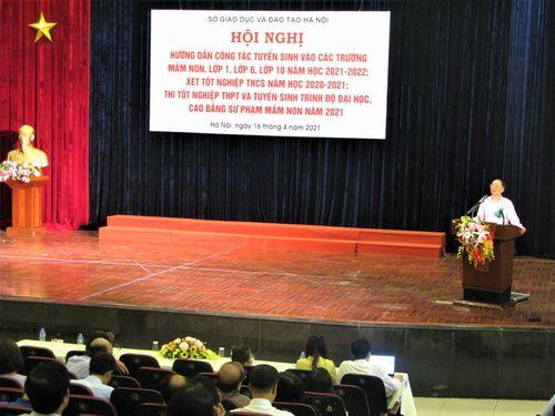 Hà Nội: Yêu cầu cử giáo viên trực, hỗ trợ phụ huynh trong suốt thời gian tổ chức tuyển sinh