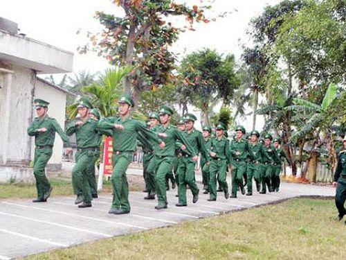 Tiêu chuẩn quân trang bảo đảm cho chiến sĩ mới nhập ngũ thuộc lực lượng BĐBP