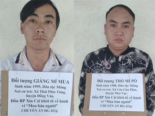 Hà Giang: Triệt phá đường dây mua bán người qua biên giới