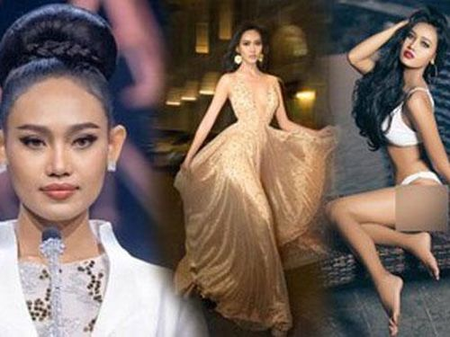 Nhan sắc Hoa hậu Hoa hậu Hòa bình Myanmar vừa bị truy nã