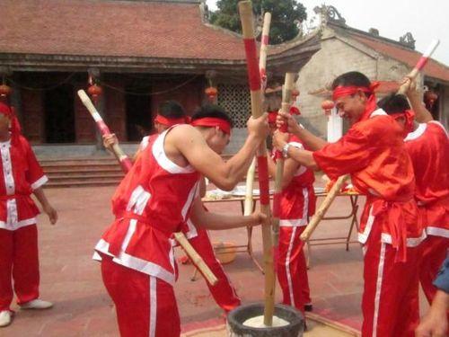 Nghìn năm giã bánh dâng Vua Hùng