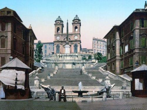 Rome những năm 1890 qua các bức ảnh cũ được phục chế