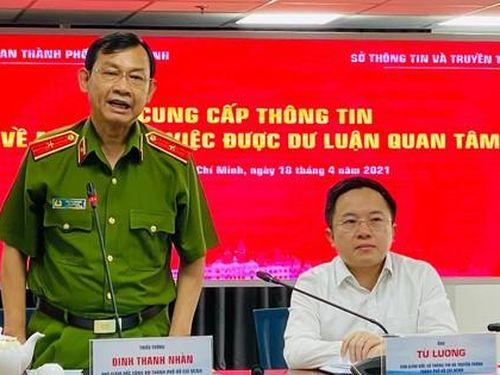 Công an TPHCM lên tiếng về vụ bắt giữ người chuyên livetream 'giám sát CSGT'