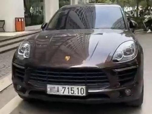 Xác minh được xe Porsche biển số thật
