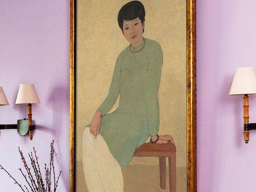 Những điều đặc biệt về bức 'Chân dung Madam Phương' của họa sĩ Mai Trung Thứ