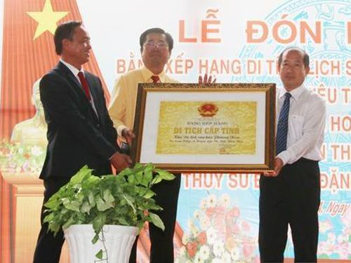 Khu Du lịch Văn hóa Phương Nam được công nhận là Di tích lịch sử văn hóa cấp tỉnh