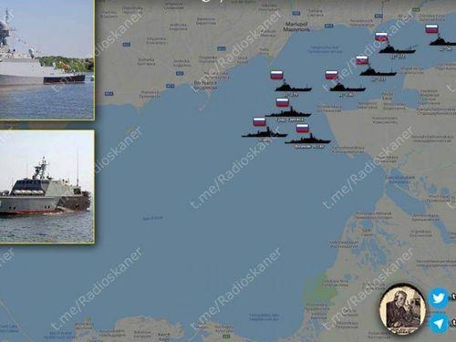 Tàu chiến Nga xuất hiện ở Azov, Ukraine lo lắng mất thành phố Mariupol