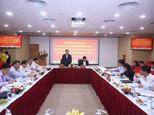 Chủ tịch UBND Thành phố Hà Nội kỳ vọng vào vai trò 'tổng tham mưu' của Sở Kế hoạch và Đầu tư