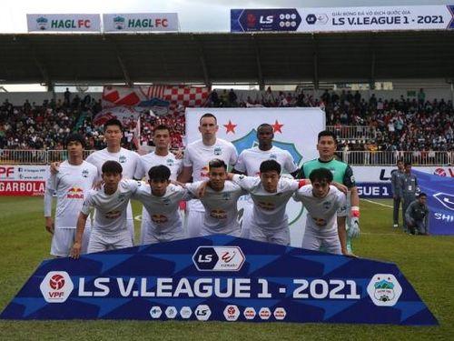 Vòng 10 Giải VĐQG LS V-League 2021: Hạ đẹp Hà Nội, HAGL vững ngôi đầu