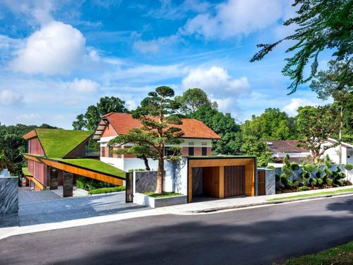 Biệt thự 50 triệu USD của tỷ phú Singapore