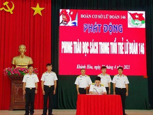 Đoàn cơ sở Lữ đoàn 146 Hải quân phát động phong trào đọc sách