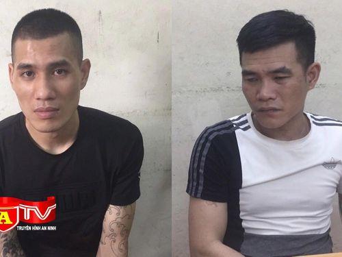 CAH Đông Anh bắt giữ 2 đối tượng trộm cắp tài sản