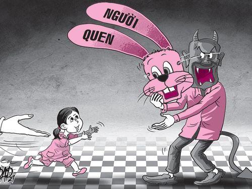 Bảo vệ trẻ em: Đừng chỉ đề phòng người lạ, bỏ qua người quen