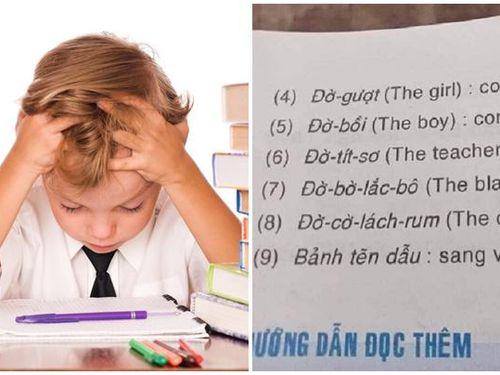 Màn phiên âm tiếng Anh sang tiếng Việt 'độc đáo', dân mạng ngơ ngác hỏi 'Bảnh tẽn dẫu' là gì?