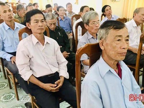 Địa phương đầu tiên Hà Tĩnh hoàn thành quán triệt Nghị quyết Đại hội XIII của Đảng