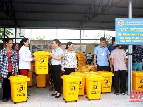 Hội Nông dân Thanh Hóa đẩy mạnh phong trào thi đua xây dựng nông thôn mới