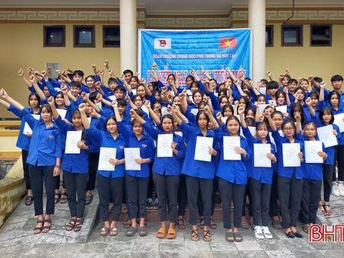 Tự hào ngôi trường mang tên cố Tổng Bí thư Hà Huy Tập