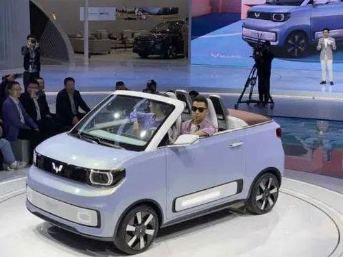 Ô tô điện siêu rẻ giá 100.000 triệu đồng cực đắt hàng ở Trung Quốc