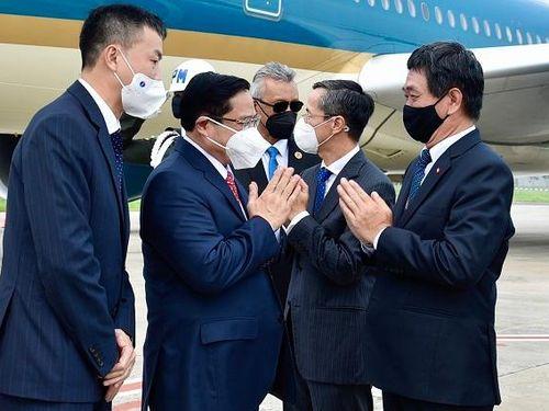 Thủ tướng Phạm Minh Chính tới In-đô-nê-xi-a, bắt đầu chuyến công tác nước ngoài đầu tiên