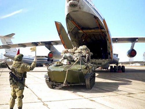 Nga công bố hình ảnh tập trận quy mô lớn ở Crimea và Biển Đen