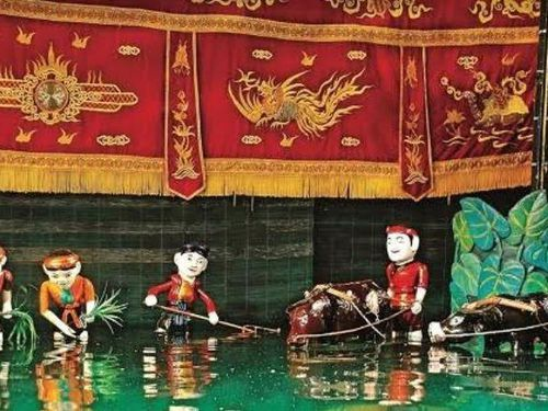 Múa rối nước ở Hải Phòng là Di sản văn hóa phi vật thể quốc gia