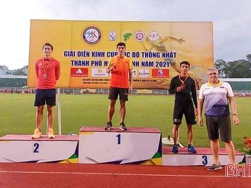 Hà Tĩnh xếp thứ 2 tại Giải Điền kinh Cúp tốc độ Thống Nhất TP Hồ Chí Minh
