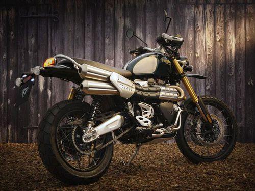 Chi tiết môtô Triumph Scrambler 1200 Steve McQueen vừa ra mắt