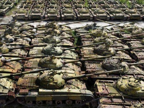 Ukraine hồi sinh những chiếc xe tăng đã hơn 50 tuổi