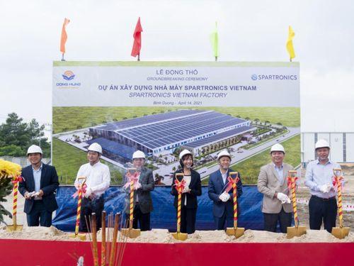 Spartronics khởi công nhà máy mới tại Việt Nam