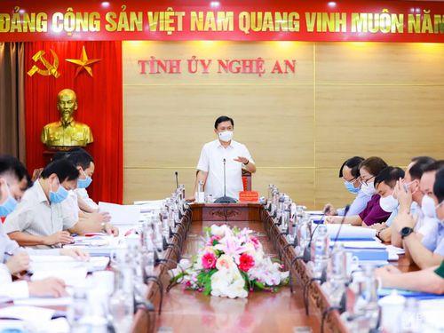 Ban Thường vụ Tỉnh ủy Nghệ An cho ý kiến về chủ trương xây dựng Đền thờ liệt sĩ tỉnh