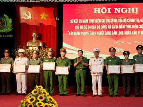 24 tập thể, 115 cá nhân Công an tỉnh Lai Châu được biểu dương, khen thưởng