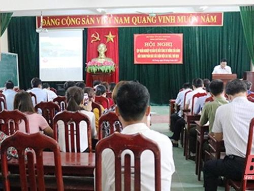 Hà Trung: Bồi dưỡng nghiệp vụ bảo vệ nền tảng tư tưởng của Đảng, đấu tranh phản bác các luận điệu sai trái, thù địch
