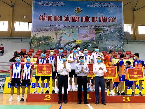 Giải vô địch cầu mây QG 2021: Đồng Nai giành 1 HCB, 4 HCĐ