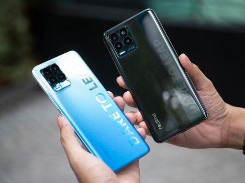 Trên tay, đánh giá nhanh bộ đôi Realme 8 và Realme 8 Pro sắp lên kệ tại Việt Nam