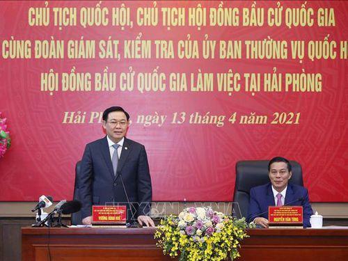 Chủ tịch Quốc hội Vương Đình Huệ ứng cử đại biểu Quốc hội khóa XV tại đơn vị bầu cử số 3, thành phố Hải Phòng