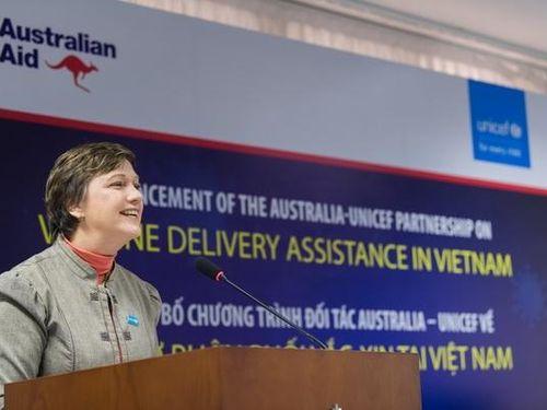 Trưởng đại diện UNICEF tại Việt Nam bày tỏ lạc quan về vắc-xin COVID-19 do Việt Nam sản xuất