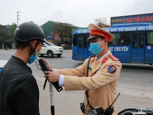 Nghệ An phát hiện 731 lái xe vi phạm nồng độ cồn, sử dụng ma túy