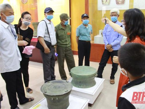 Bảo tàng tỉnh Thanh Hóa đón khách tham quan đảm bảo '5K'