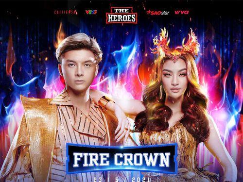 Lona Kiều Loan cùng Producer Kent Trần trở thành cặp đôi Nữ hoàng - Đế vương quyền lực tại The Heroes
