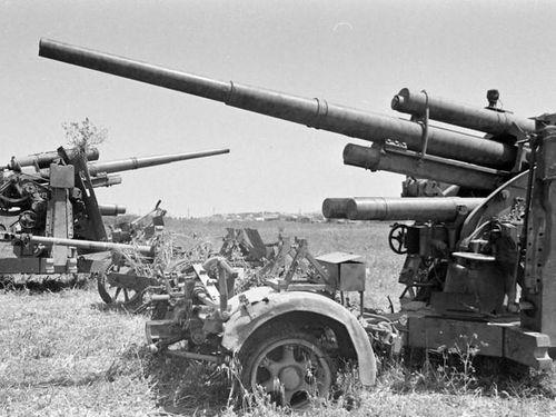 Dàn pháo binh cực khủng của Đức và Mỹ trong Chiến tranh Thế giới