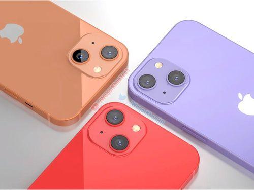 Mê mẩn với loạt iPhone 13 xanh - đỏ - tím - cam, camera xếp chéo đầy lạ lẫm