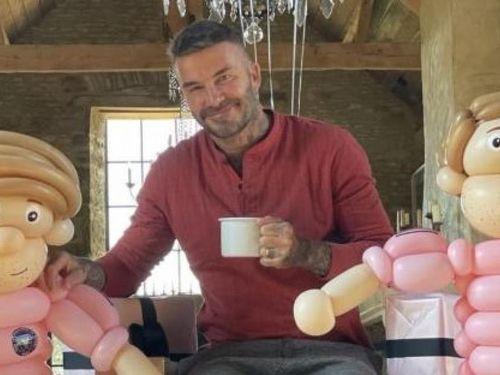 David Beckham rạng rỡ đón sinh nhật tuổi 46 bên gia đình